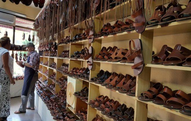 datça şehir günlüğü sandalet
